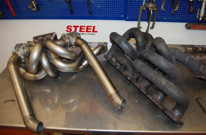 Nissan RB25 DET exhaust manifold